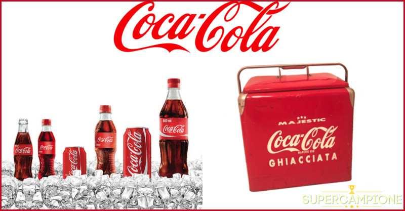 Supercampione - Vinci una ghiacciaia vintage con Coca-cola