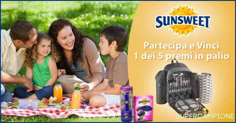 Supercampione - Vinci zaino da picnic e prodotti Sunsweet
