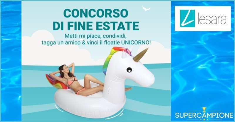 Supercampione - Vinci un Unicorno gonfiabile