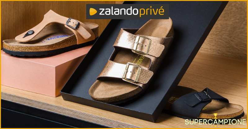 purchase cheap 77688 efc23 Zalando: Birkenstock con sconti speciali - SuperCampione 2019