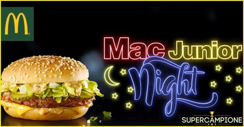 Supercampione - Gusta il nuovo Mac Junior a solo 1€