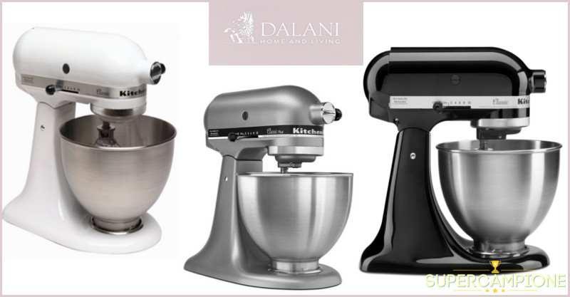 Supercampione - Vinci un robot da cucina KitchenAid Classic