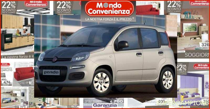 Supercampione - Vinci una Fiat Panda con Mondo Convenienza
