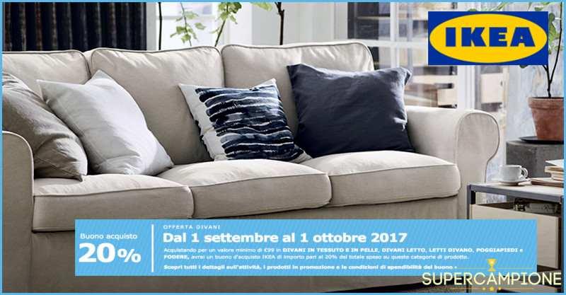 Supercampione - Ikea: ricevi un buono pari al 20% della tua spesa