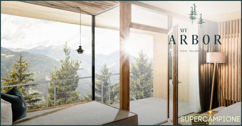Supercampione - Vinci gratis un soggiorno My Arbor in Alto Adige