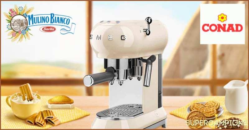 Vinci una macchina da caffè SMEG