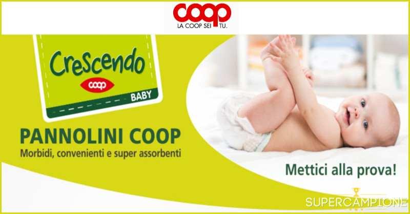 Supercampione - Buono spesa pannolini Coop