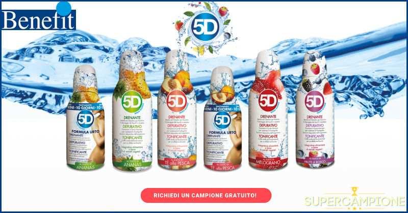 Supercampione - Campioni omaggio Benefit 5D Depuradren Depurativo