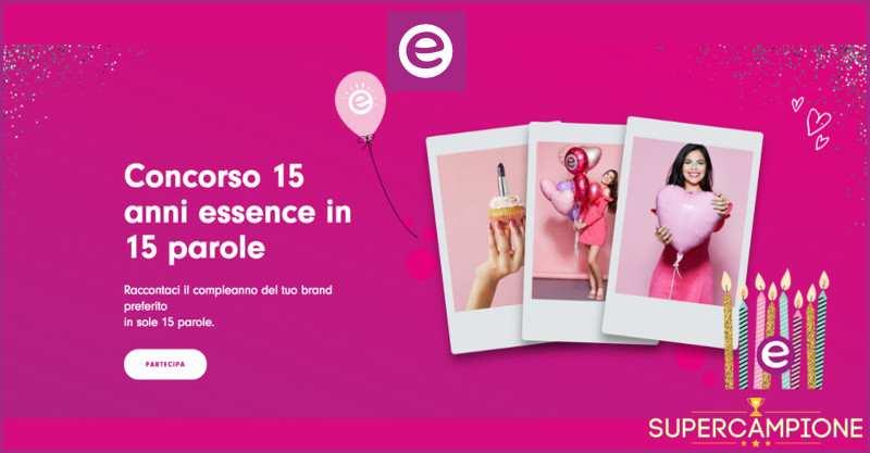 Supercampione - Essence: vinci una collezione completa di cosmetici o una box