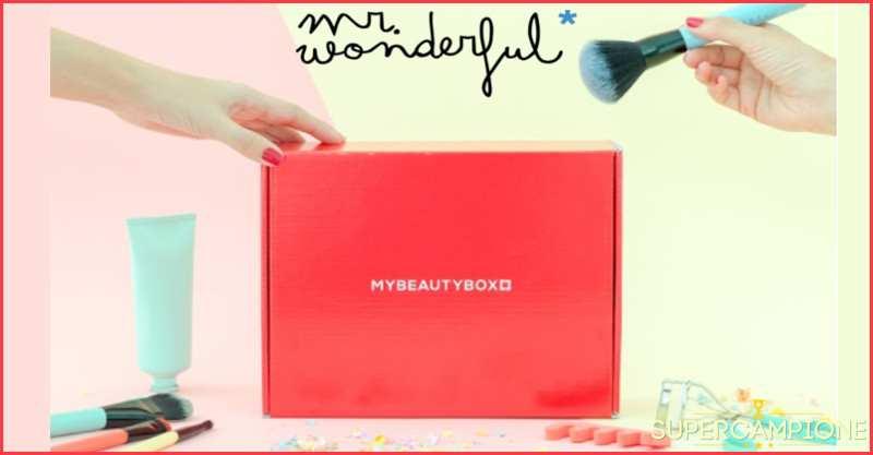 Vinci gratis una gift card Mybeautybox da 154€