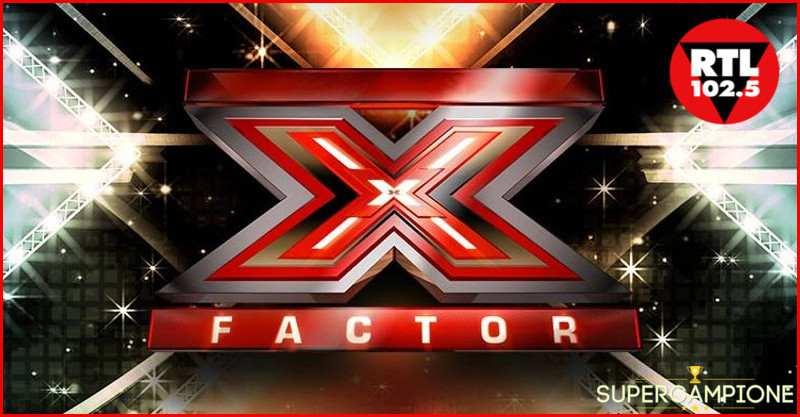 Supercampione - RTL: Vinci gratis 2 biglietti per i LIVE di X Factor