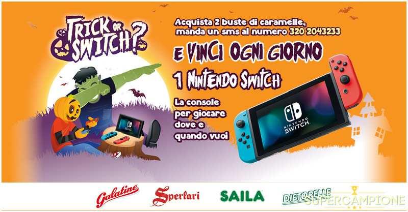 Vinci subito la console Nintendo Switch