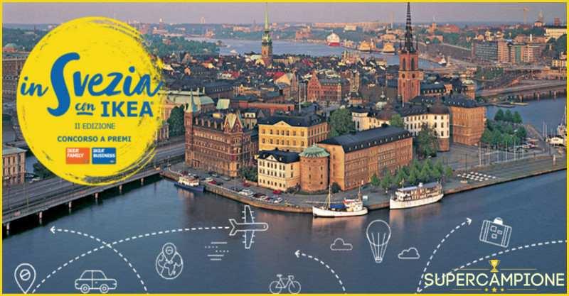 Supercampione - IKEA: vinci un viaggio in Svezia