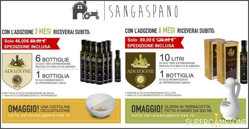 Sangaspano: adotta un ulivo e ricevi il suo olio