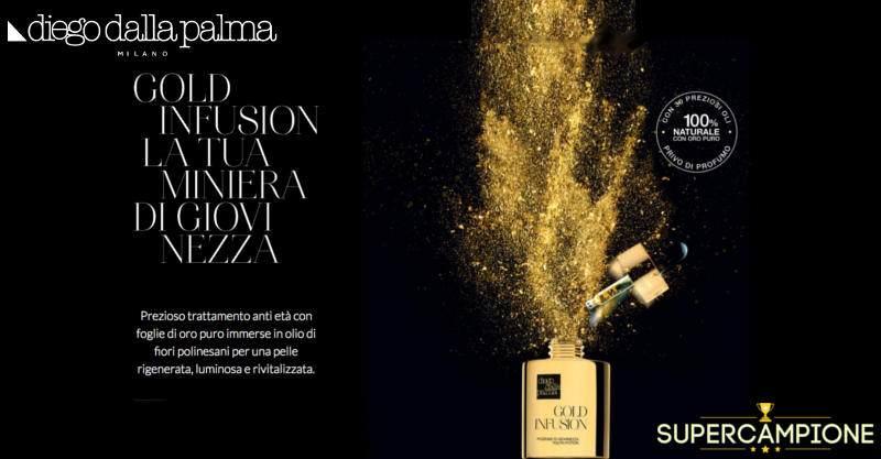 Supercampione - Campioni omaggio Gold Infusion Diego dalla Palma