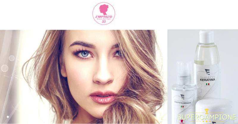 Campioni omaggio shampoo Empireo 33