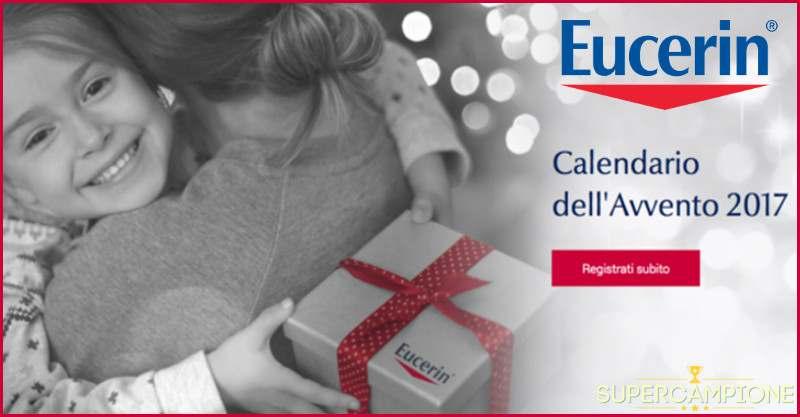 Calendario dell'avvento Eucerin: vinci gratis tanti prodotti