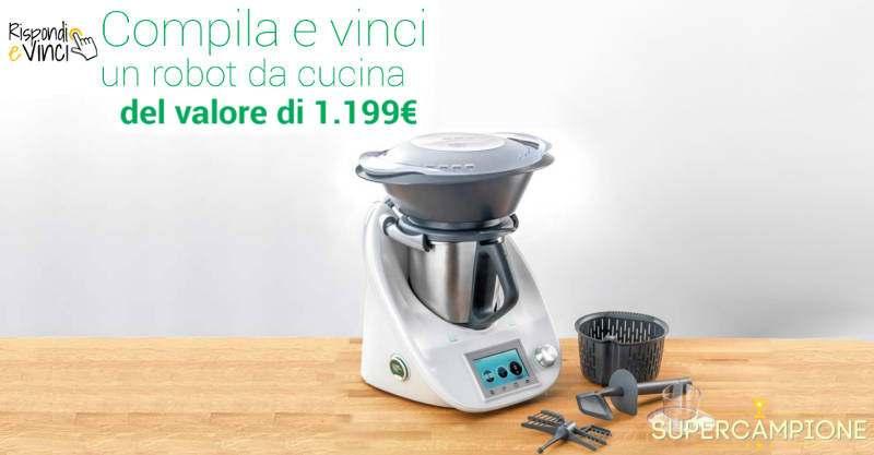 Supercampione - Vinci gratis un robot da cucina da 1000€