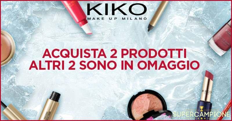 KIKO: in omaggio 2 prodotti