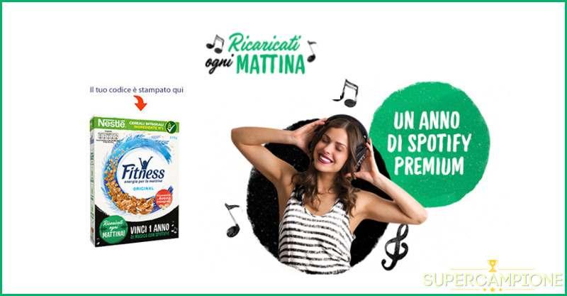 Supercampione - Vinci un abbonamento annuale a Spotify Premium