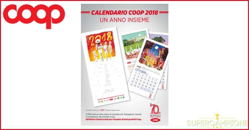 Supercampione - Omaggio calendario 2018 Coop