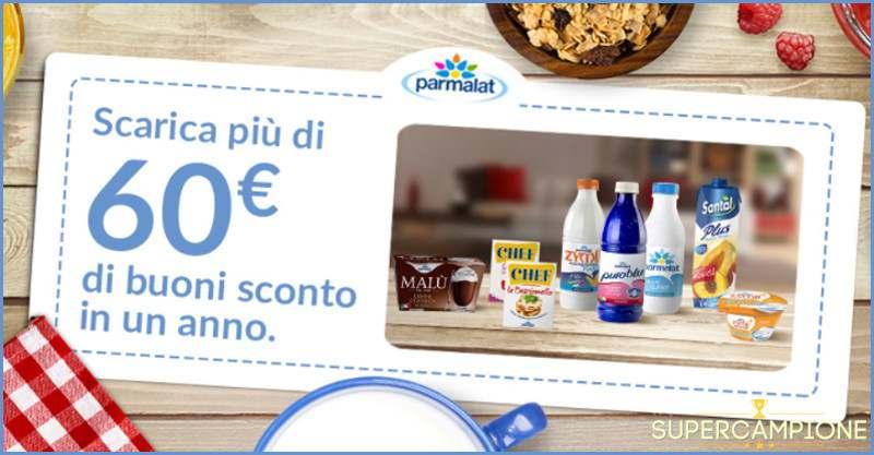 Supercampione - Buoni sconto Parmalat