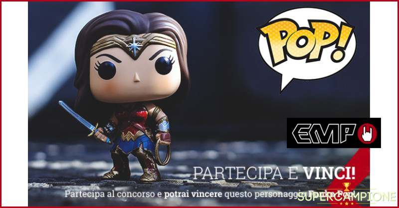 Supercampione - Vinci gratis Wonder Woman