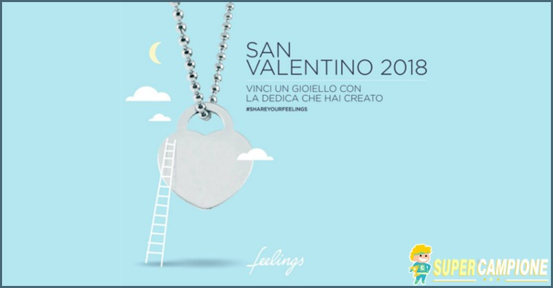 Vinci un gioiello Feelings Jewels con la tua dedica