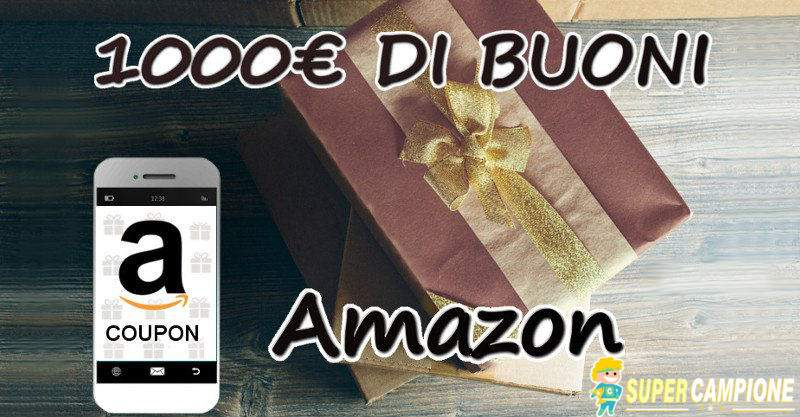 Supercampione - Vinci 1000€ di buoni Amazon