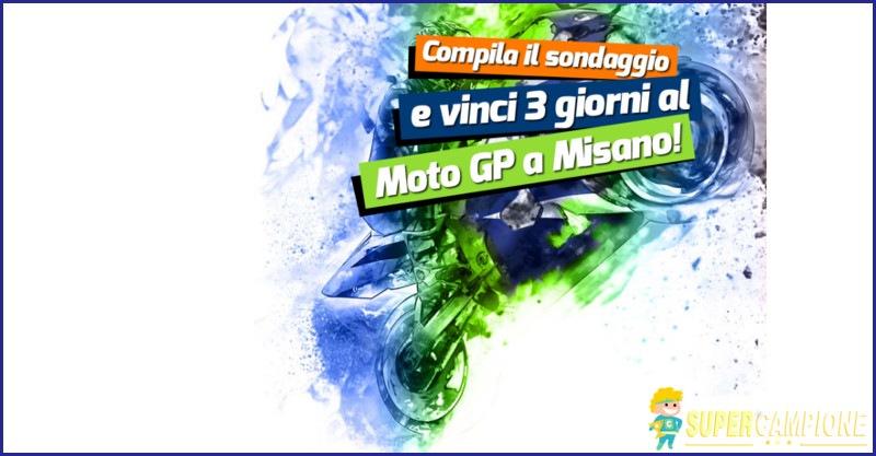 Supercampione - Vinci gratis 3 giorni al Moto GP