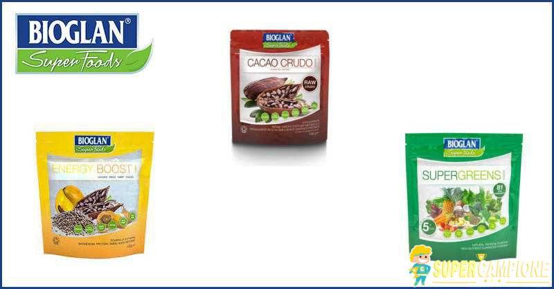 Supercampione - Campioni omaggio Bioglan Superfoods