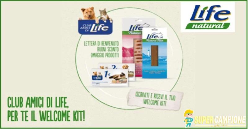 Supercampione - Omaggio per il tuo amico a 4 zampe: Welcome Kit Life