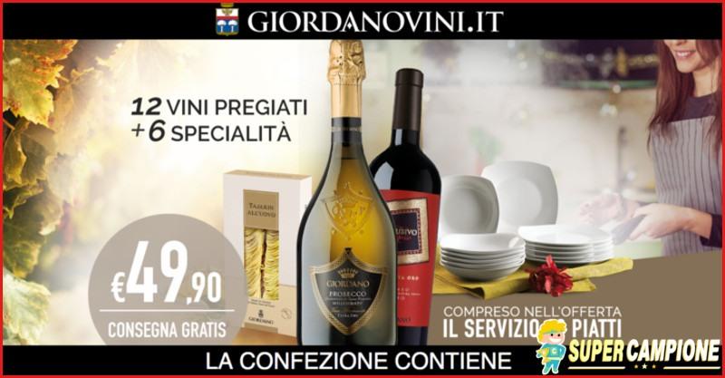 Supercampione - Giordano Vini: consegna gratis e omaggio