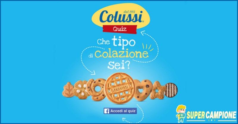 Supercampione - Vinci gratis 14 confezioni di biscotti Colussi