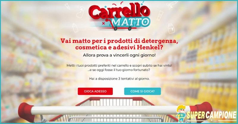 Supercampione - Vinci gratis i prodotti Henkel