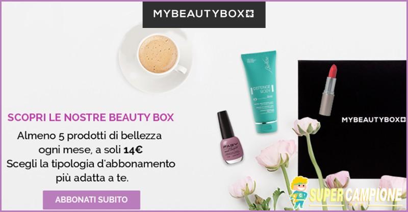 Supercampione - MyBeautyBox sconto -10%