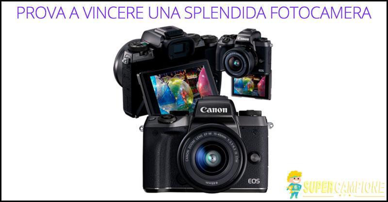 Supercampione - Vinci gratis una macchina fotografica