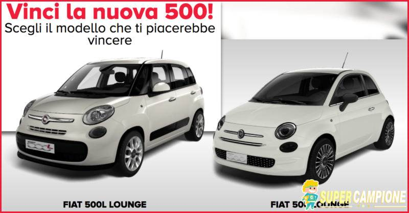 Supercampione - Vinci gratis una Fiat 500