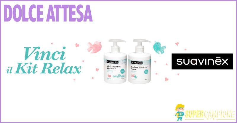 Supercampione - Vinci gratis un kit relax Suavinex