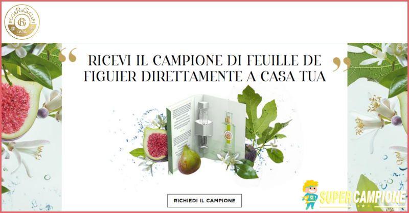 Supercampione - Campioni omaggio acqua benessere Feuille de Figuier