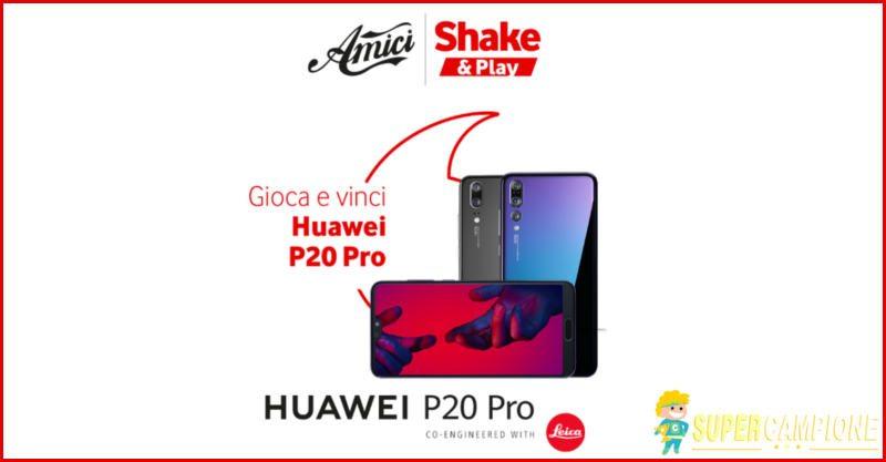 Supercampione - Vinci gratis uno Huawei P20 Pro