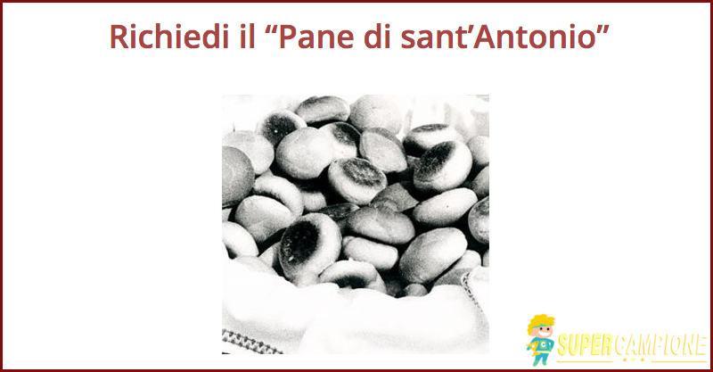 Supercampione - Campione omaggio pane di sant'Antonio a casa