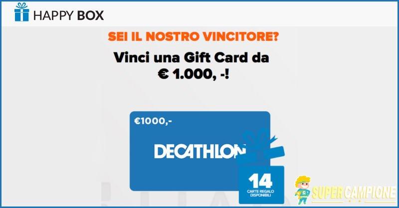 Supercampione - Vinci un buono Decathlon da 1000€