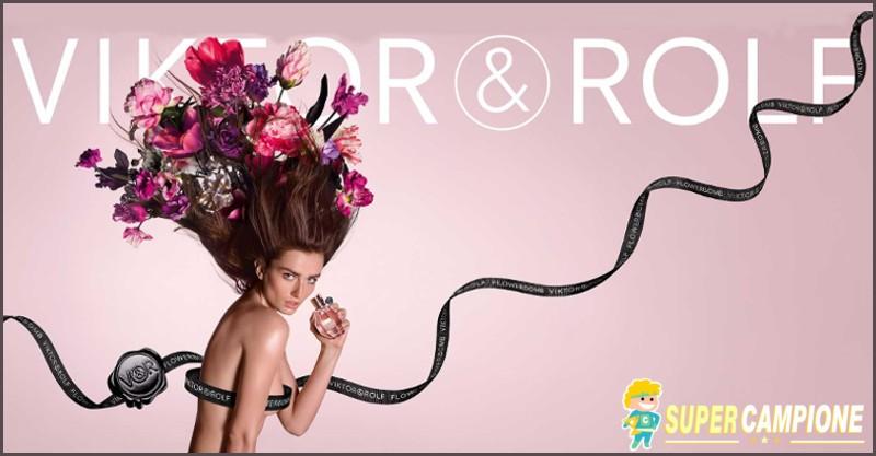 Campioni omaggio profumo Flowerbomb di Viktor & Rolf
