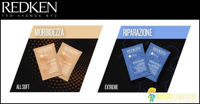 Supercampione - Campioni omaggio shampoo e balsamo Redken