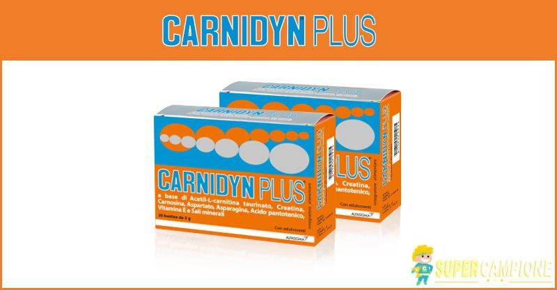 Supercampione - Campioni omaggio Carnidyn Plus