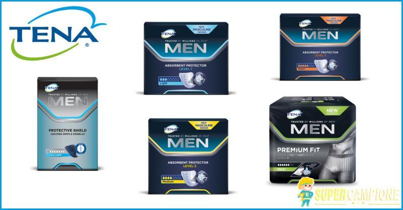 Supercampione - Campioni omaggio prodotti TENA Men