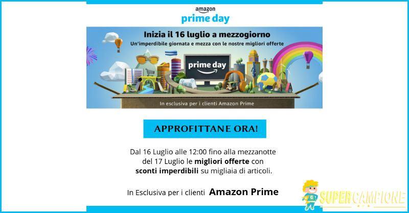Supercampione - Amazon Prime DAY: offerte imperdibili