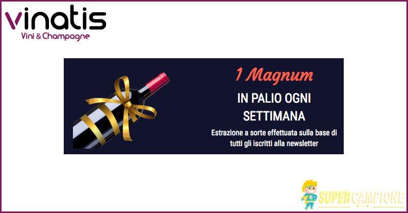 Supercampione - Vinci gratis una bottiglia di vino Magnum
