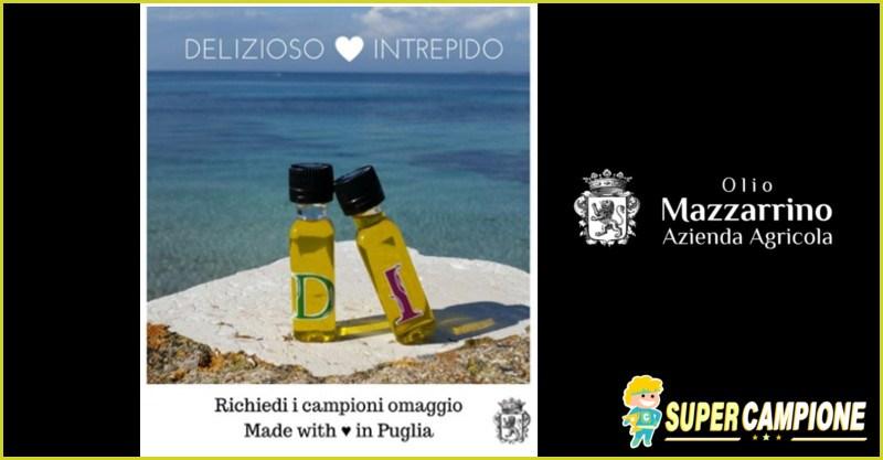 Campioni omaggio olio d'oliva